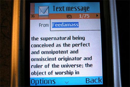 Un mesaj frumos