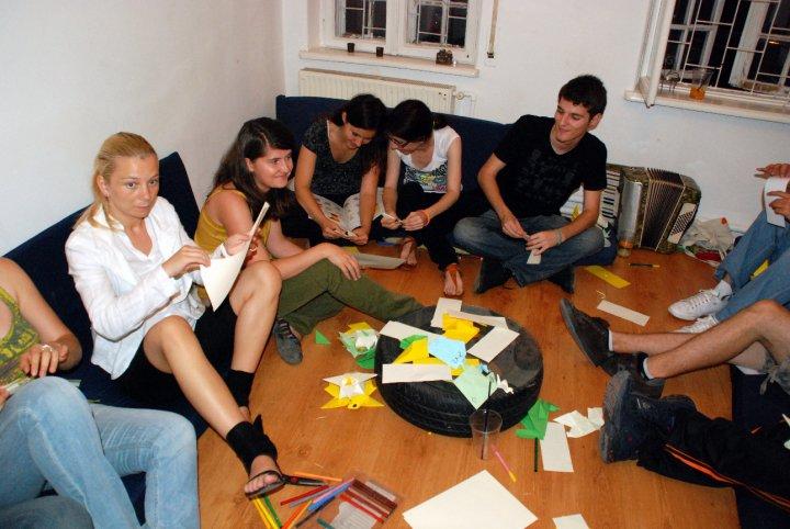 Seara de origami