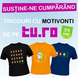 Apreciază-ne şi susţine-ne munca cumpărând un tricou cu Motivonti!