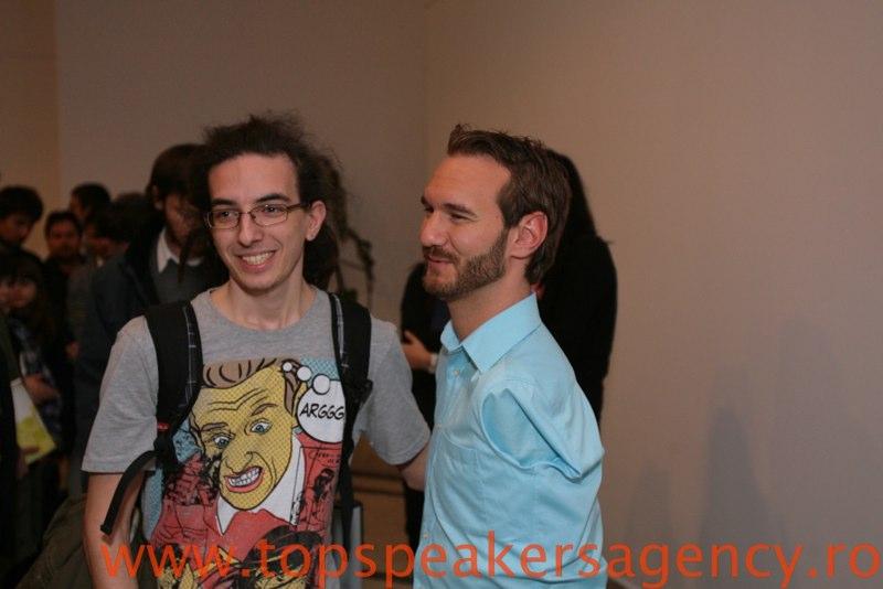 Eu şi Nick Vujicic