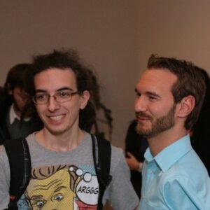 M-am întâlnit cu Nick Vujicic!