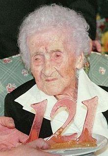 Jeanne Calment, cea mai vârstnică persoană - 122 de ani şi 164 de zile