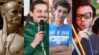 Valentin, Sergiu, Cristian şi Bogdan - bloggerii care au avut curajul să accepte provocarea Motivonti!
