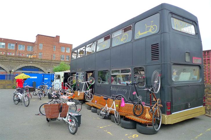 Interviu cu Karta Healy, fondatorul The Bicycle Livrary