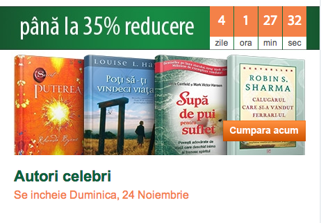 Reduceri la cărți de Black Friday