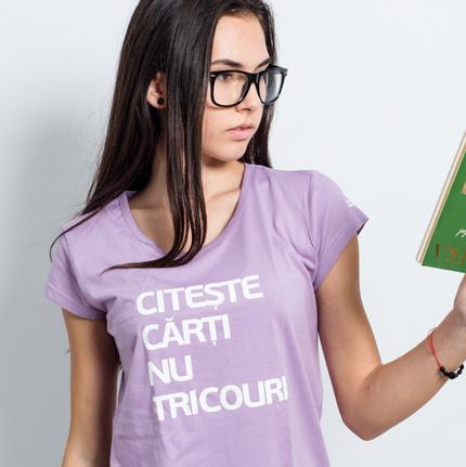 Tricou Citește cărți