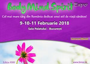 Body Mind Spirit EXPO pe 9-10-11 februrarie