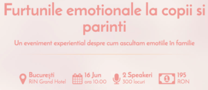 Furtunile emotionale la copii si parinti