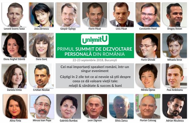 UnlimitU – Primul summit