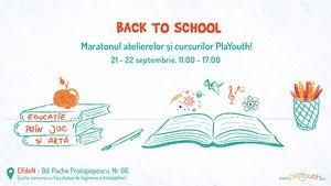 Back to school Maratonul educatiei